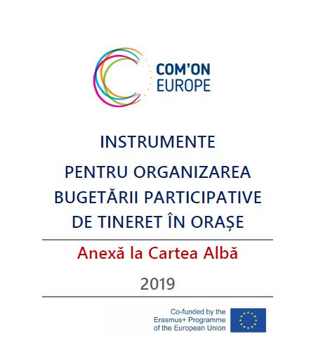 Instrumente  pentru organizarea bugetării participative de tineret în orașe