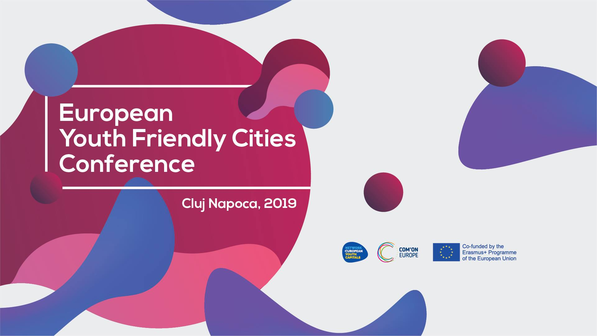 European Youth Friendly Cities Conference 2019